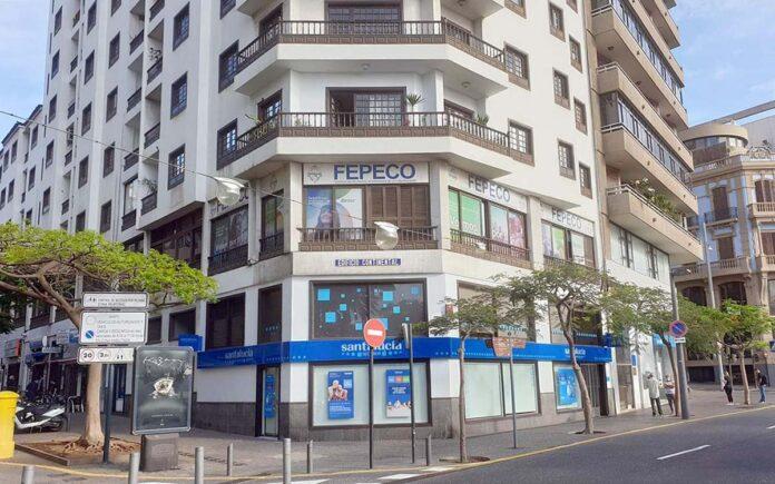 Sede de FEPECO en S/C. de Tenerife./ Cedida.