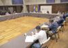 Reunión en la sede de Presidencia en Santa Cruz de Tenerife del Plan Reactiva Canarias./ Cedida.