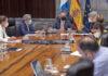 Un momento de la reunión del Consejo de Gobierno en S/C. de Tenerife./ Cedida.