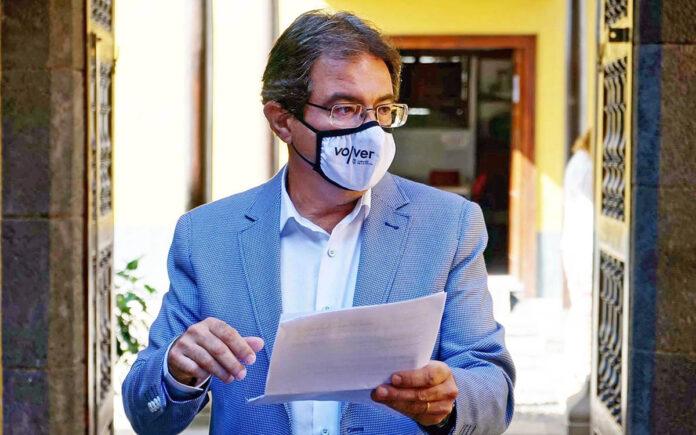 José Adrián Hernández Montoya, consejero Agricultura, Ganadería y Pesca./ Cedida.