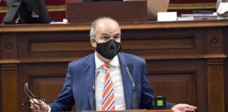José Alberto Díaz-Estébanez, diputado del Grupo Nacionalista Canario./ Cedida.