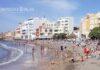 Playa de El Médano antes de la pandemia. ©Manuel Expósito. NOTICIAS 8ISLAS.