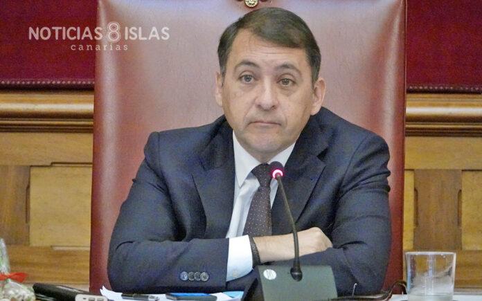 José Manuel Bermúdez, alcalde de Santa Cruz de Tenerife./ ©Manuel Expósito. NOTICIAS 8 ISLAS.