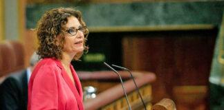 María Jesús Montero, ministra de Hacienda./ Twitter - @Congreso_Es