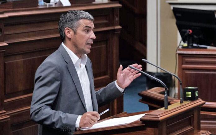 Narvay Quintero, vicesecretario de Acción Exterior de AHÍ-CC-PNC./ Cedida.