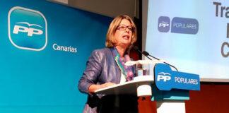 Pepa Luzardo, portavoz del PP en el Ayuntamiento de Las Palmas./ Cedida.