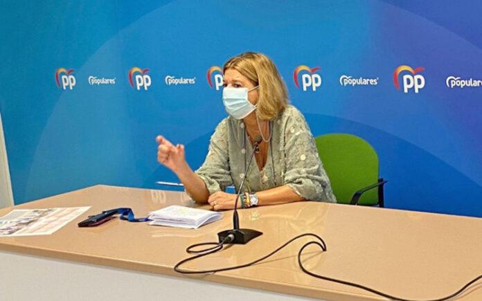 Pepa Luzardo, portavoz del Partido Popular en el Ayuntamiento de Las Palmas de Gran Canaria./ Cedida.