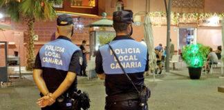 Policía Local de Santa Cruz de Tenerife./ Cedida.