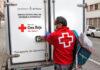 Reparto de Alimentos, Cruz Roja./ Cedida.