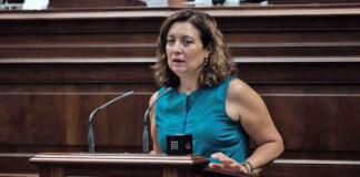 Ventura del Carmen Rodríguez, diputada del Grupo Parlamentario Socialista por La Gomera./ Cedida.