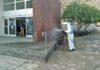 Desinfección Centro de Salud./ Cedida.