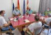 Reunión de los alcaldes de la isla de La Gomera./ Cedida.
