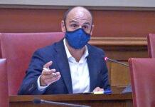 Alfonso Cabello, secretario de organización de CC en Santa Cruz de Tenerife./ Cedida.
