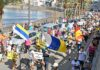 Manifestación por las calles de la localidad de Arguineguín./ Twitter.
