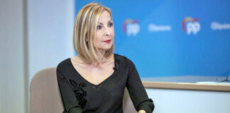 Australia Navarro, portavoz del Grupo Parlamentario Popular./ Cedida.