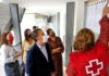 Visita al Centro de Atención a Inmigrantes gestionado por Cruz Roja./ Cedida.