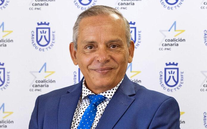 Efraín Medina, consejero de CC-PNC del Cabildo de Tenerife./ Cedida.