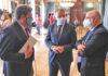 Reunión entre el ministro Escrivá y Antonio Morales./ Cedida.
