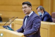 Fabián Chinea, senador por la isla de La Gomera./ Cedida.