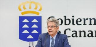 Julio Pérez, portavoz del Gobierno de Canarias./ Cedida.