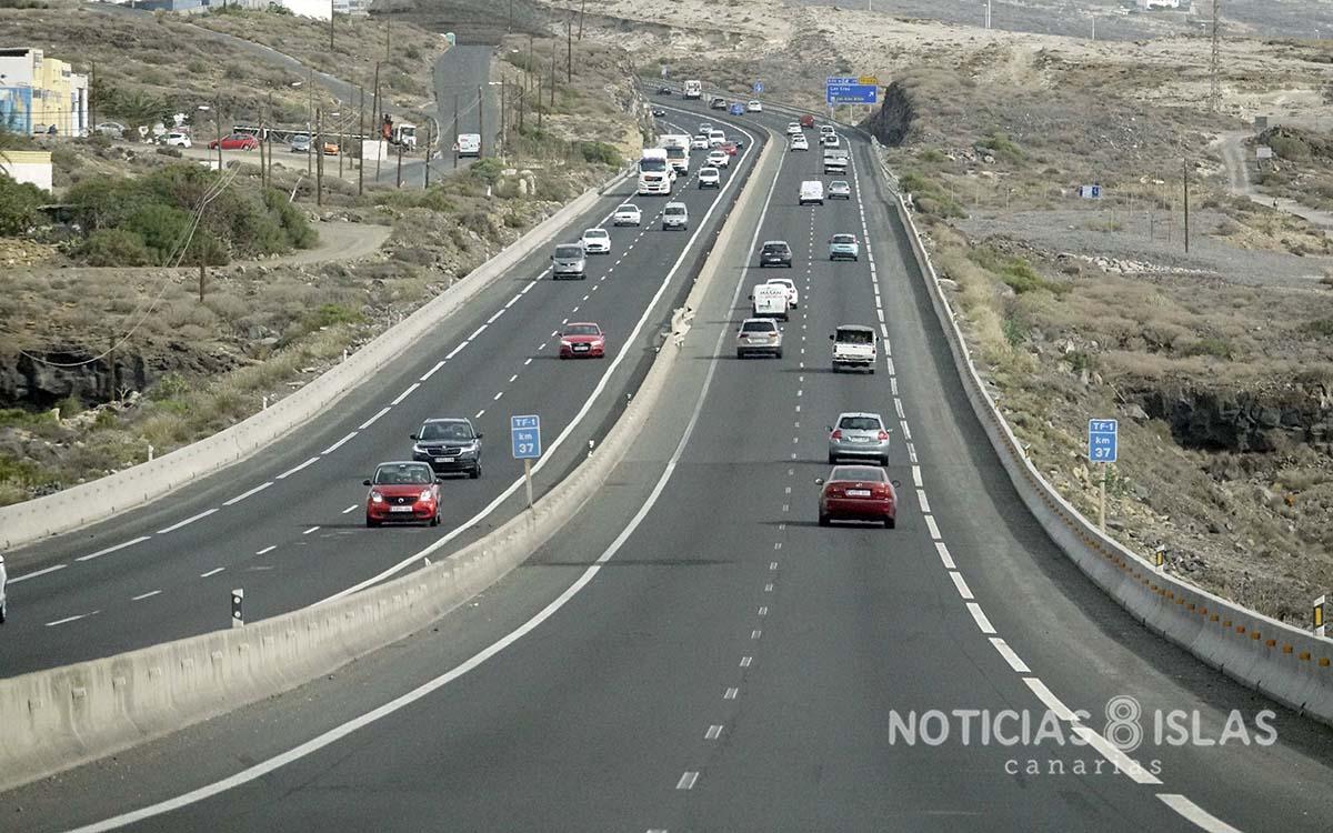 El PP lamenta que el Cabildo se niegue a iluminar al completo las autopistas, a pesar del peligro que esto supone a los usuarios