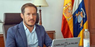 Mariano H. Zapata, presidente del Cabildo de La Palma./ Cedida.