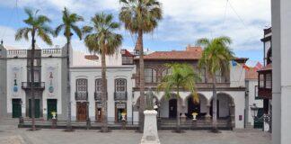 Plaza de España y Ayuntamiento, S/C. de La Palma./ Cedida.