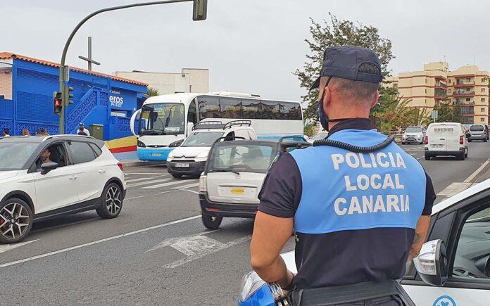 Policía Local de S/C. de Tenerife./ Cedida.
