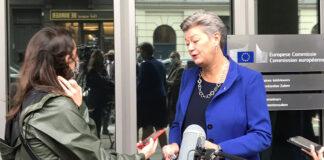Ylva Johansson, comisaria de Interior de la Unión Europea./ Twitter.