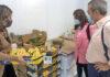 Un momento de la visita a la Cooperativa San Miguel./ Cedida.