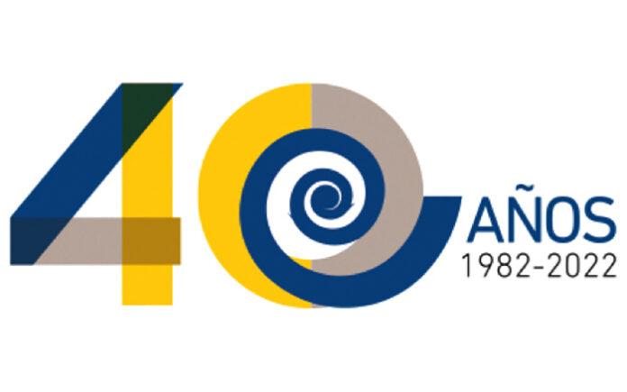 Imagen conmemorativa del 40 aniversario de parlamentarismo en Canarias./ Cedida.