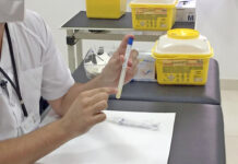 Prueba PCR./ Cedida.