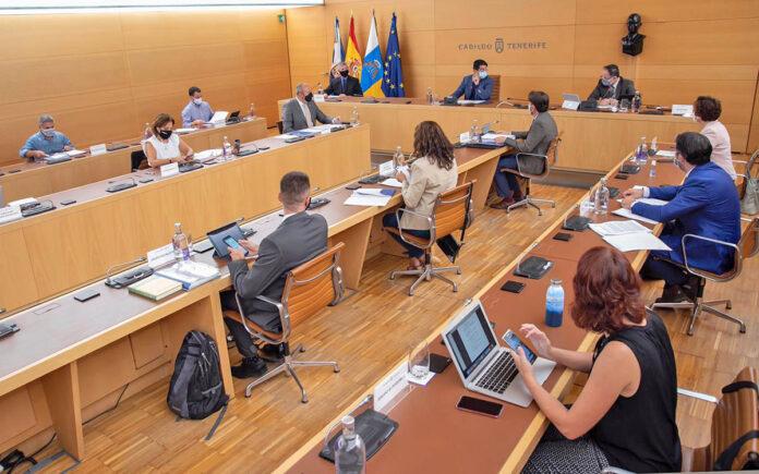 Imagen del Pleno del mes de octubre./ Cedida.