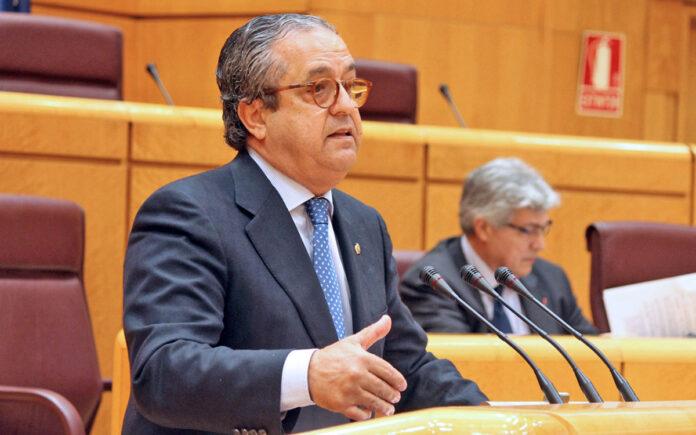 Antonio Alarcó, senador popular por Tenerife./ Cedida.