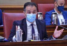 Carlos Tarife, portavoz adjunto de los Populares en el Ayuntamiento./ Cedida.