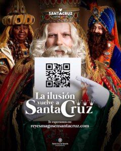 Cartel Navidad y Reyes 2020