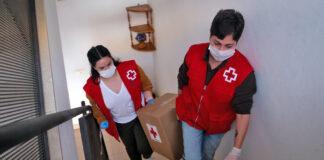 Voluntarios de Cruz Roja./ Cedida.