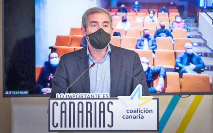 Fernando Clavijo, secretario general nacional de Coalición Canaria./ Cedida.