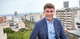 Guillermo Díaz Guerra, portavoz del Partido Popular en Santa Cruz de Tenerife./ Cedida.