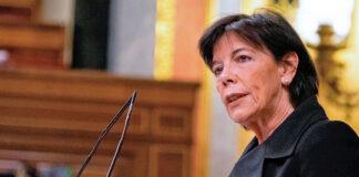 Isabel Celaá Diéguez, ministra de Educación y Formación Profesional.