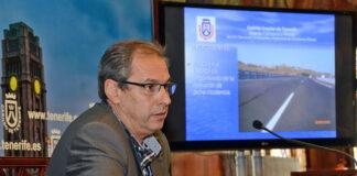 José Luis Delgado, en una rueda de prensa en el Cabildo