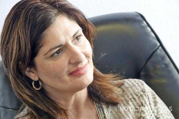 Carmen Luisa Castro, portavoz del Partido Popular en el ayuntamiento de Güímar. ©Manuel Expósito. NOTICIAS 8 ISLAS.