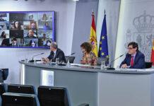 Rueda de prensa posterior al Consejo de Ministros./ Pool Moncloa, Borja Puig de la Bellacasa.