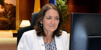Reyes Maroto, ministra de Industria, Comercio y Turismo./ Twytter.
