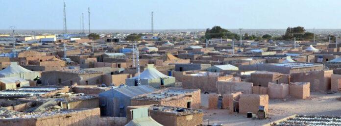 Campamentos en el Sáhara Occidental.