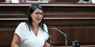 Ana González, portavoz de Educación del Grupo Parlamentario Socialista./ Cedida.