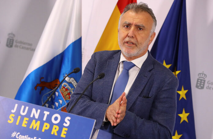 Ángel Víctor Torres, presidente de Canarias./ Gobierno de Canarias (EFE).