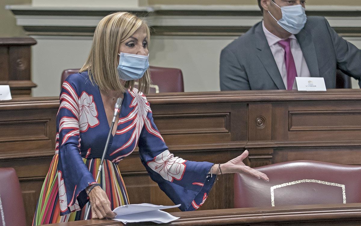 """Navarro considera """"inmoral"""" que el Gobierno presuma de salud financiera mientras arruina la economía canaria"""