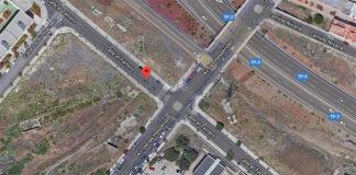 Avenida de las Hespérides con la Calle el Terrero (Tíncer)./ Google Maps.