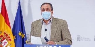 Blas Trujillo, consejero de Sanidad./ Cedida.